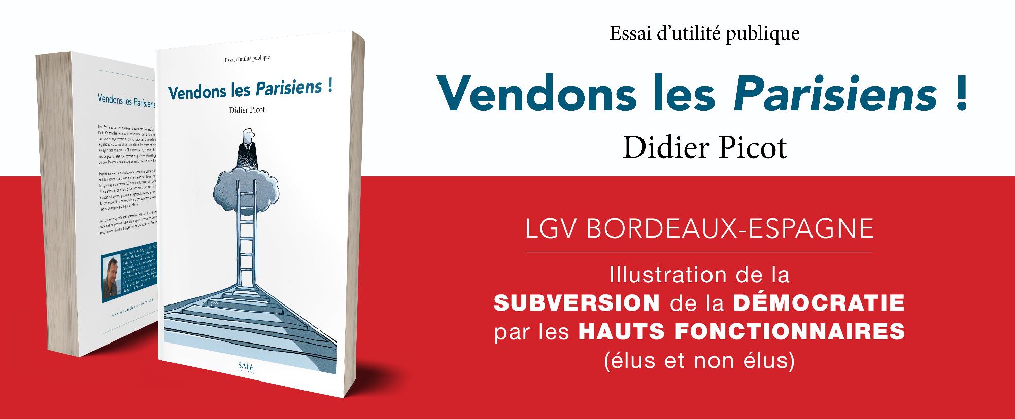 Bandeau de présentation du livre Vendons les Parisiens